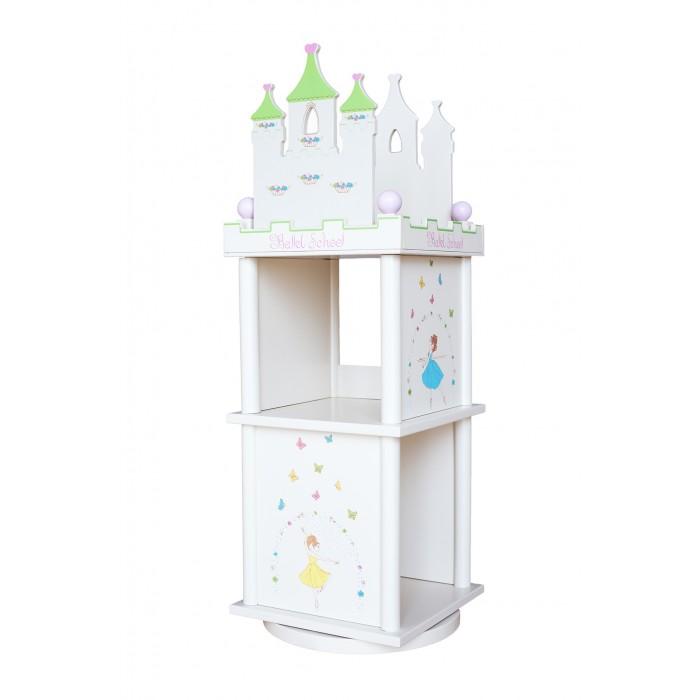 Ящики для игрушек Major-Kids Кукольный дом-стеллаж Балет