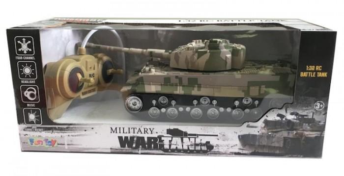 Машины Fun Toy Танк с джойстиком 44416 портативный cd плеер с джойстиком