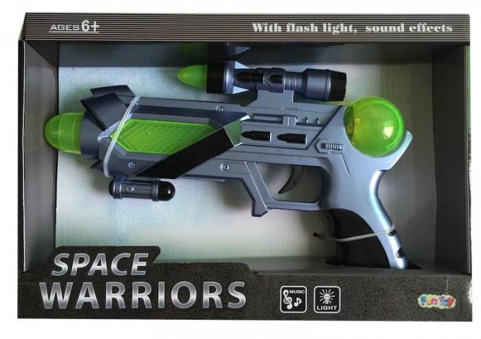 Игрушечное оружие Fun Toy Космическое оружие Бластер игрушечное оружие yako игрушечное оружие 2 в 1 y4640125
