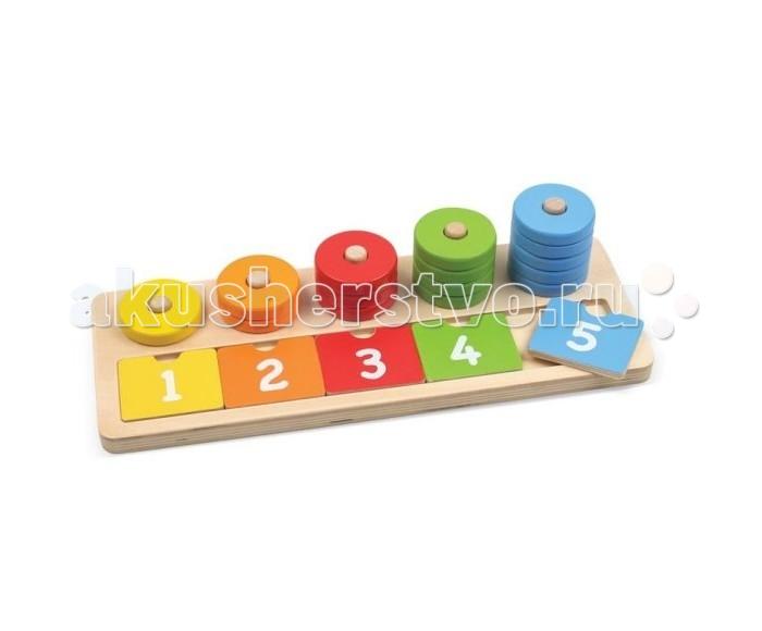 Деревянные игрушки Mapacha Развивающая игра Учимся считать
