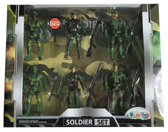 Игровые фигурки Fun Toy Набор солдатиков sunjade набор солдатиков восточный воин