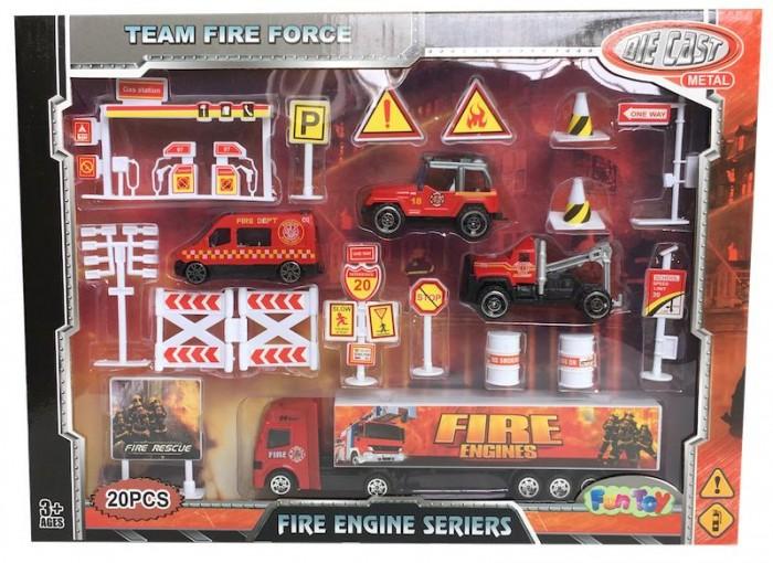 Картинка для Fun Toy Набор пожарной теxники