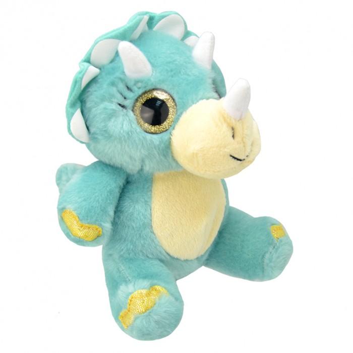 Мягкие игрушки Wild Planet Динозавр Трицератопс 19 см дэннис шатц динозавр трицератопс
