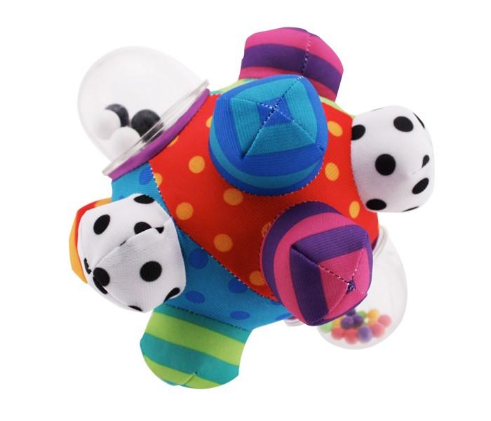 Погремушка Sassy Мягкий мяч-погремушка