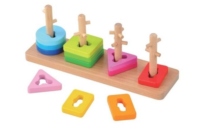 Деревянные игрушки Mapacha Сортер Ключики деревянные игрушки mapacha сортер пирамидка шестеренки