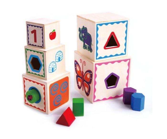 Деревянные игрушки Mapacha Сортер-матрешка Волшебный куб деревянные игрушки mapacha сортер пирамидка шестеренки