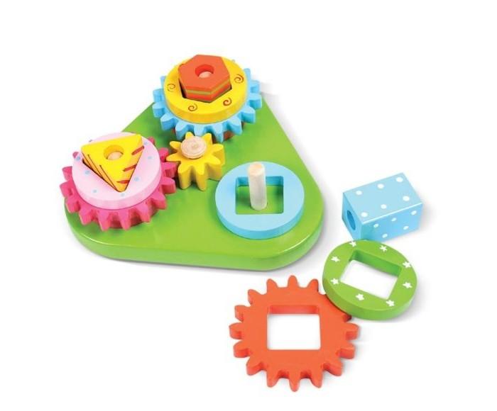 Фото - Деревянные игрушки Mapacha Сортер-пирамидка Формы и цвета деревянные игрушки томик пирамидка 9 деталей