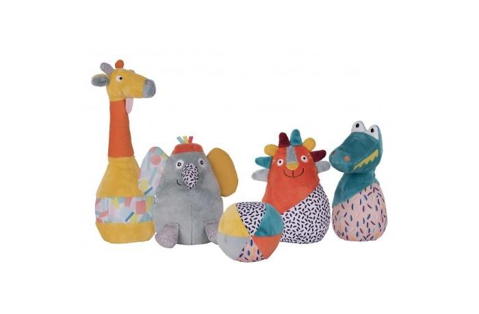 Мягкие игрушки, Мягкая игрушка Ebulobo Мягкий боулинг Зоопарк  - купить со скидкой