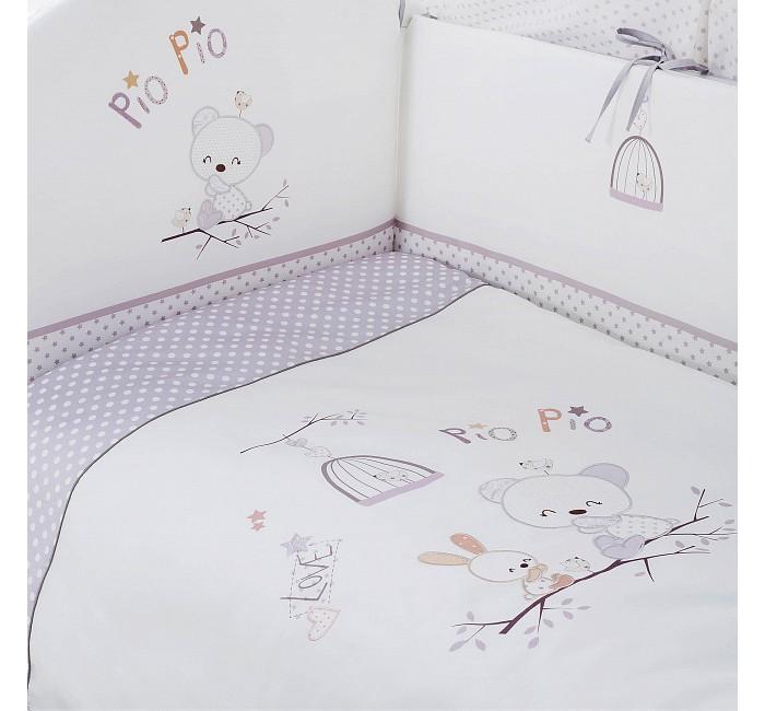 Постельные принадлежности , Комплекты в кроватку Perina Pio Pio (4 предмета) арт: 398144 -  Комплекты в кроватку