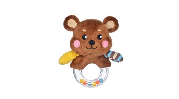 Погремушки Жирафики Мишка 939507 фиксатор двери мир детства мишка