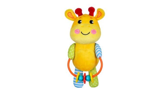 Погремушки Жирафики Развивающая игрушка с погремушками Жирафик жирафики развивающая игрушка цветной мячик в ассорименте жирафики