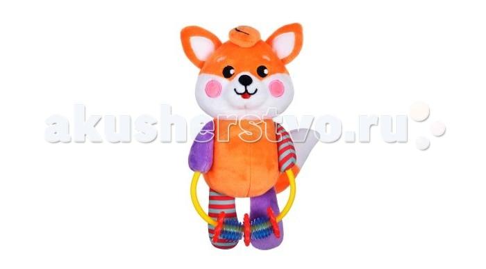 Погремушки Жирафики Развивающая игрушка с погремушками Лисенок жирафики развивающая игрушка подвеска веселые малыши