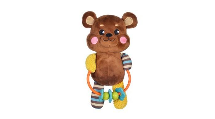 Погремушки Жирафики Развивающая игрушка с погремушками Мишка жирафики развивающая игрушка цветной мячик в ассорименте жирафики