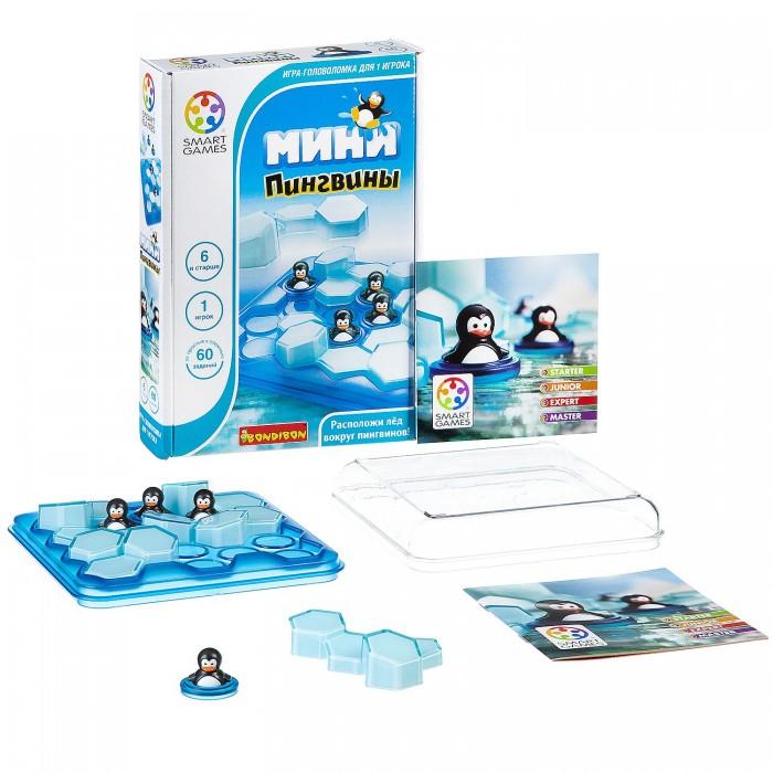 Настольные игры Bondibon Логическая игра Мини-пингвины bondibon обучающая игра пингвины на льдинах