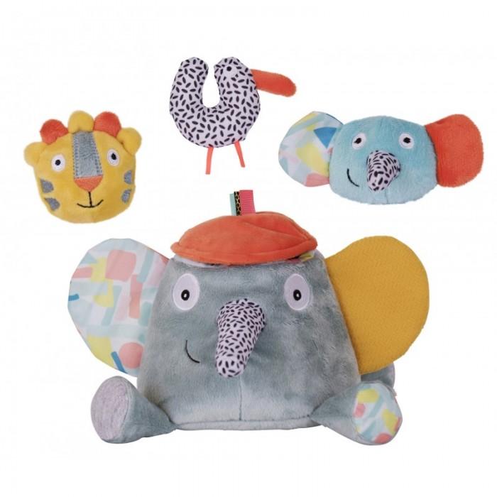 Развивающие игрушки Ebulobo Слонёнок Зигги и его друзья каталки игрушки ebulobo мишка большая