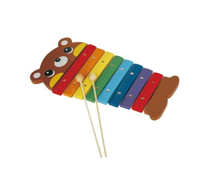 Музыкальные игрушки Bondibon Инструменты музыкальные деревянные Юный Музыкант ксилофон музыкальные инструменты smoby музыкальный инструмент ксилофон