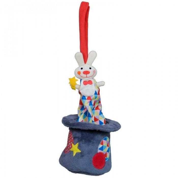 Музыкальные игрушки Ebulobo Кролик в шляпе ebulobo музыкальная игрушка козочка жужу с рождения