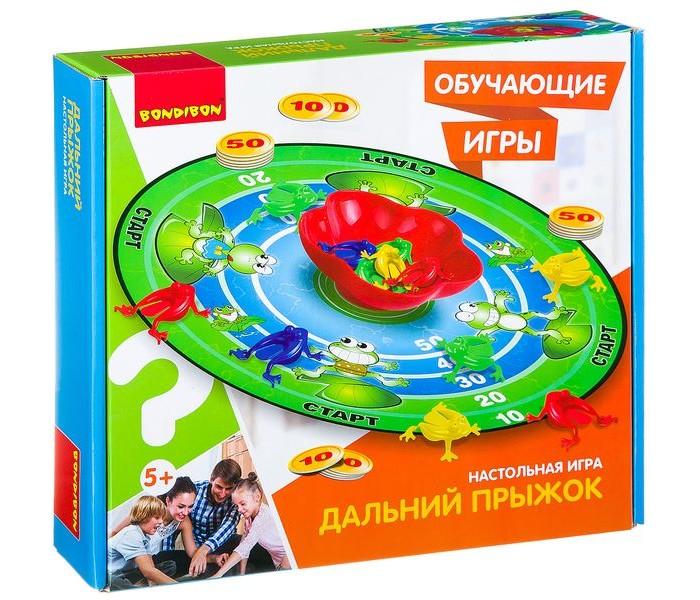 Настольные игры Bondibon Обучающие игры Настольная игра Дальний прыжок