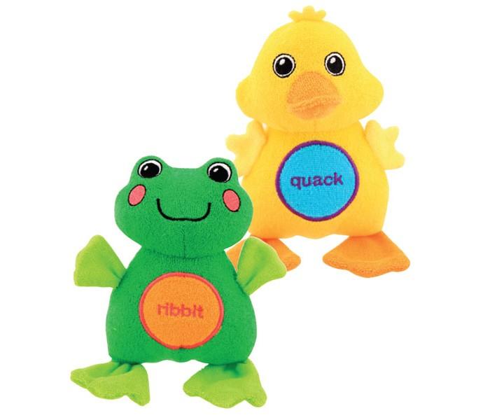 Игрушки для ванны Sassy Мягкие смеющиеся друзья для ванны игрушки для ванны tolo toys набор ведерок квадратные
