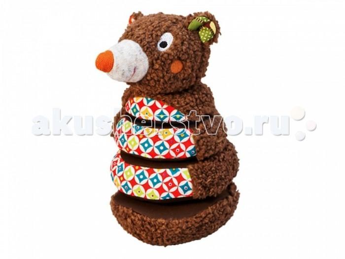 Мягкие игрушки Ebulobo Пирамидка Мишка