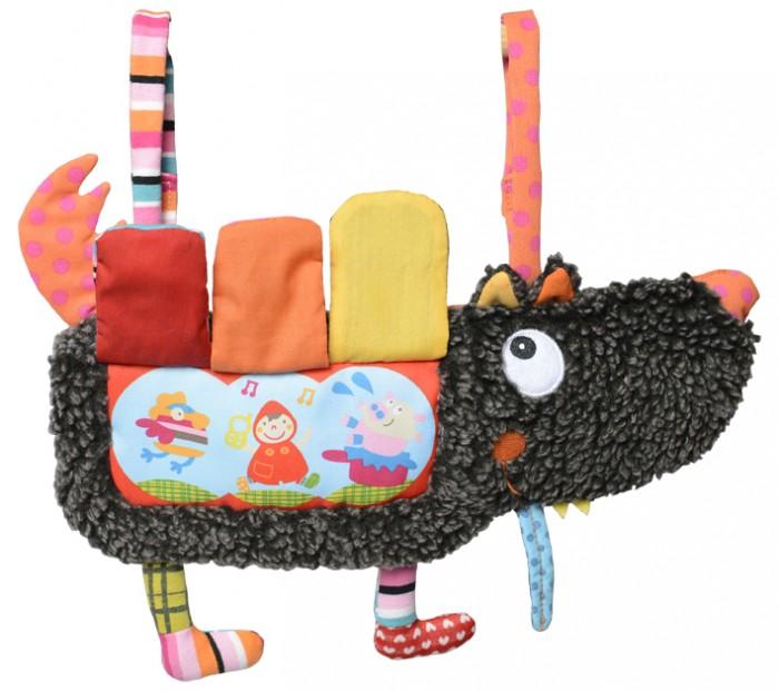 Подвесные игрушки Ebulobo Подвеска-книжка на кроватку Волчонок