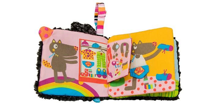 Книжки , Развивающие книжки Ebulobo Развивающая книжка Одень Волчонка арт: 398769 -  Развивающие книжки