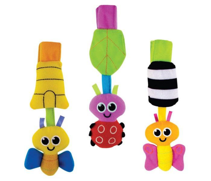 Подвесные игрушки Sassy Подвеска мягкая 80036EP подвесные игрушки мир детства мини подвеска слоненок