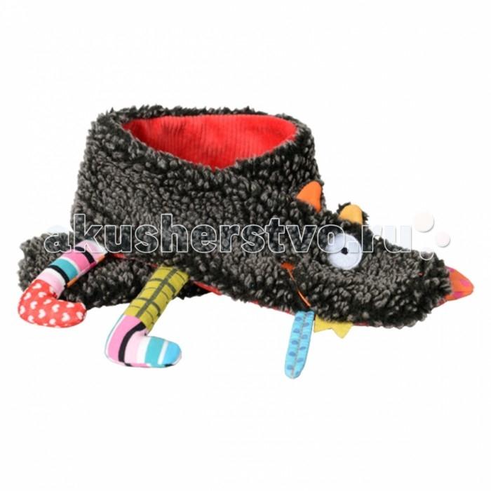 Детская одежда , Варежки, перчатки и шарфы Ebulobo Шарфик Волчонок арт: 398954 -  Варежки, перчатки и шарфы
