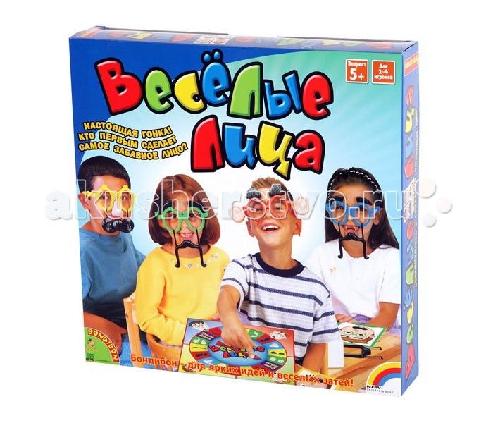 Настольные игры Bondibon Настольная игра Весёлые лица настольные игры bondibon обучающие игры настольная игра дальний прыжок