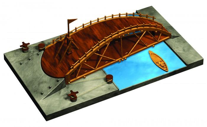 Конструкторы Edu-Toys Изобретение Леонардо Да Винчи DV003 вешалка леонардо