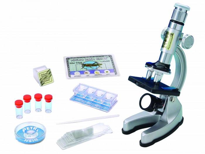 Наборы для творчества Edu-Toys Микроскоп 100x450x750 eastcolight micro science mp 450 blue микроскоп