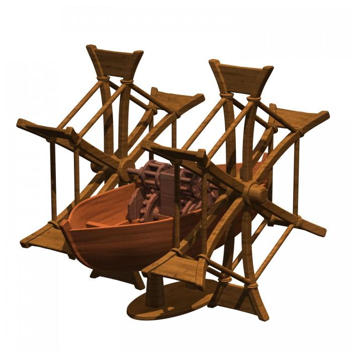 Сборные модели Edu-Toys Изобретение Леонардо Да Винчи DV008