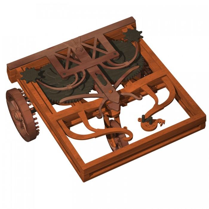 Конструкторы Edu-Toys Изобретение Леонардо Да Винчи DV009 игровой набор playmates toys патрульные багги леонардо и донателло