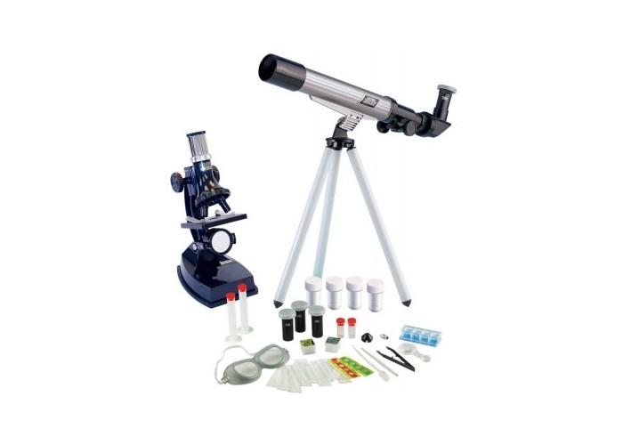 Купить Наборы для опытов и экспериментов, Edu-Toys Набор микроскоп телескоп TM236