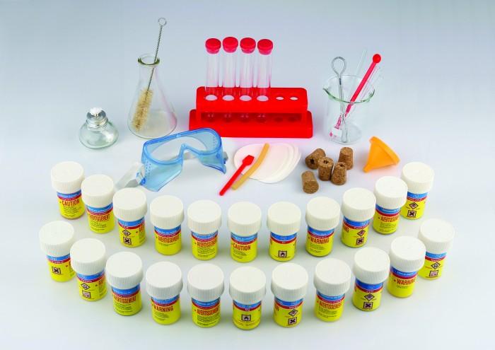 Edu-Toys Лаборатория xимический набор CM002Лаборатория xимический набор CM002Edu-Toys Лаборатория xимический набор CM002 – это полный набор всех необходимых реактивов и приборов, позволяющий провести 169 опытов. Проводя эксперименты и совершая каждый раз новые открытия, юный химик сможет как можно ближе познакомиться с такой наукой как химия.  Все материалы и реактивы имеют безопасные для использования свойства с главной целью - обучение в наглядном проведении химических опытов.  Юные последователи Кюри и Лавуазье найдут материалы и инструменты для проведения более сотни экспериментов, таких как: «Вулкан на столе», «Несгораемая нить», «Фантастические пейзажи» и множество других не менее удивительных и познавательных опытов.  В комплекте: химические реактивы 22 шт. лакмусовые бумажки 8 шт. мензурки 2 шт. пробирки 4 шт. стойка и держатель для пробирок пробки простые и с отверстиями 2+3 шт. стеклянные и резиновые трубочки 3+1 шт. ершик спиртовка ложки 2 шт. фильтр 6 шт. воронка защитные очки инструкция с подробным описанием опытов.<br>