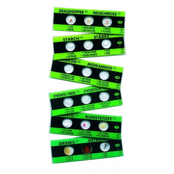 Наборы для творчества Edu-Toys Набор слайдов для микроскопа игрушки для ванны tolo toys набор ведерок квадратные
