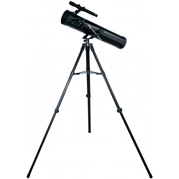 """Edu-Toys Телескоп RT776Телескоп RT776Edu-Toys Телескоп RT776 принесет ребенку радость встречи с загадочным миром звезд и планет.   Кто из нас не мечтал в детстве приблизиться к таинственному ночному небу? Теперь Вы можете сделать такой подарок своему ребенку и вместе с ним начать изучать астрономию. Карта неба, которая входит в комплект, поможет начать необычную экскурсию.   Более углубленные знания можно почерпнуть из специальной литературы.  Комлектация: Регулятор точной настройки Азимутальная монтировка Штатив 114 см (45"""") алюминиевая тренога Дополнительный поднос Отвертка Чемодан для хранения Астрономическая карта Инструкция   Технические хaрактеристики: Максимальное увеличение в 525 раз Зеркало точного отражения &#248; 76 мм Фокусное расстояние: 700 мм Окуляры: 4 мм, 9 мм, 12.5 мм, 20 мм Линза Барлоу: 3x Finderscope: 6x 25 мм<br>"""