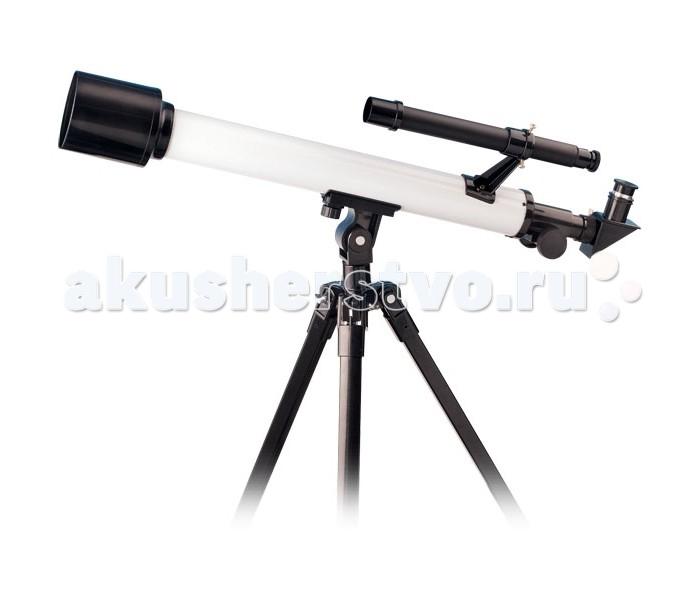 """Edu-Toys Телескоп TS506Телескоп TS506Edu-Toys Телескоп TS506 принесет ребенку радость встречи с загадочным миром звезд и планет.   Кто из нас не мечтал в детстве приблизиться к таинственному ночному небу? Теперь Вы можете сделать такой подарок своему ребенку и вместе с ним начать изучать астрономию. Карта неба, которая входит в комплект, поможет начать необычную экскурсию.   Более углубленные знания можно почерпнуть из специальной литературы.  Комлектация: Diagonal Viewer Штанга 89 см (35"""") алюминивая тренога Астрономическая карта Инструкция Чемодан для хранения   Технические хaрактеристики: Максимальное увеличение в 345 раз Объективная Линза &#248;: 50 мм Фокусное расстояние: 600 мм Окуляр: 4 мм, 12.5 мм, 20 мм Линза Барлоу: 2.3x Finderscope: 6x 25 мм  Возраст: 10 +<br>"""