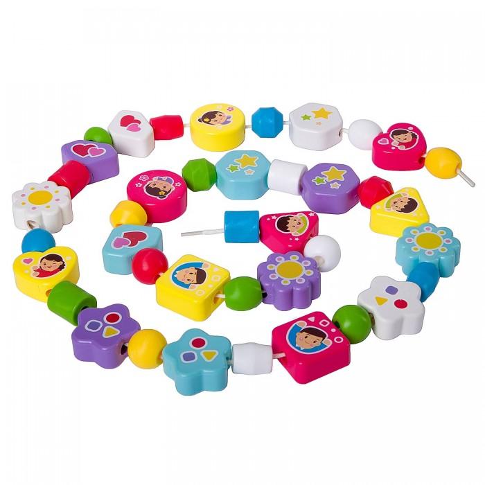 Наборы для творчества Bondibon Игра развивающая Бусины аэлита развивающая игра цветные столбики