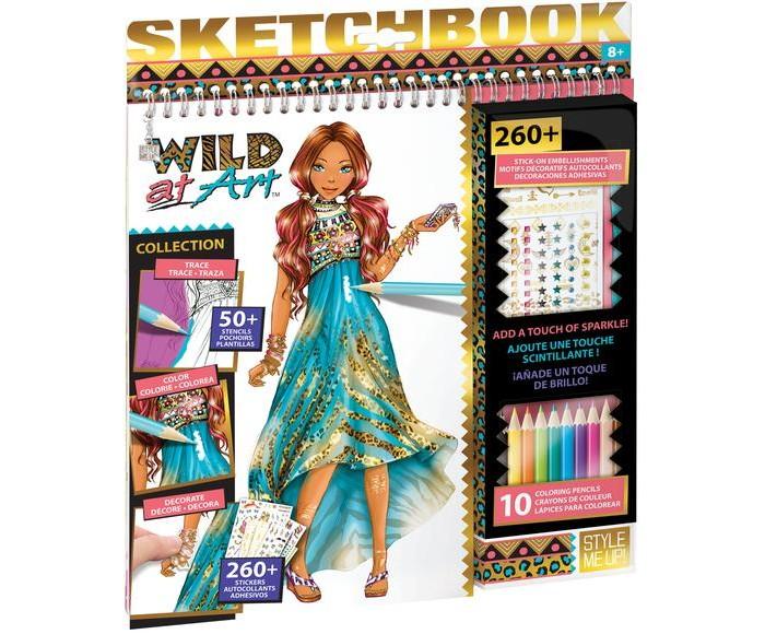 Развитие и школа , Канцелярия Style Me Up Альбом дизайнера Wild at Art арт: 399679 -  Канцелярия