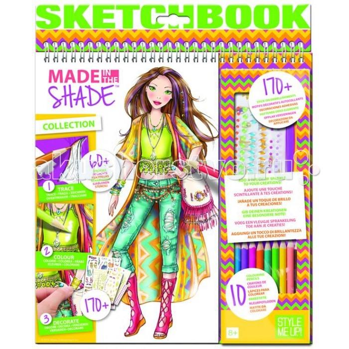 Развитие и школа , Канцелярия Style Me Up Альбом дизайнера с карандашами и наклейками арт: 399684 -  Канцелярия