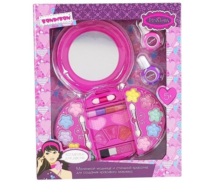 Детская косметика Bondibon Набор детской декоративной косметики Eva Moda Bох лак для ногтей 2 оттенка