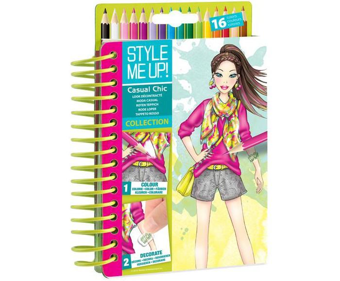 Канцелярия Style Me Up Блокнот дизайнера Городской шик альбом дизайнера твой дизайн футболки