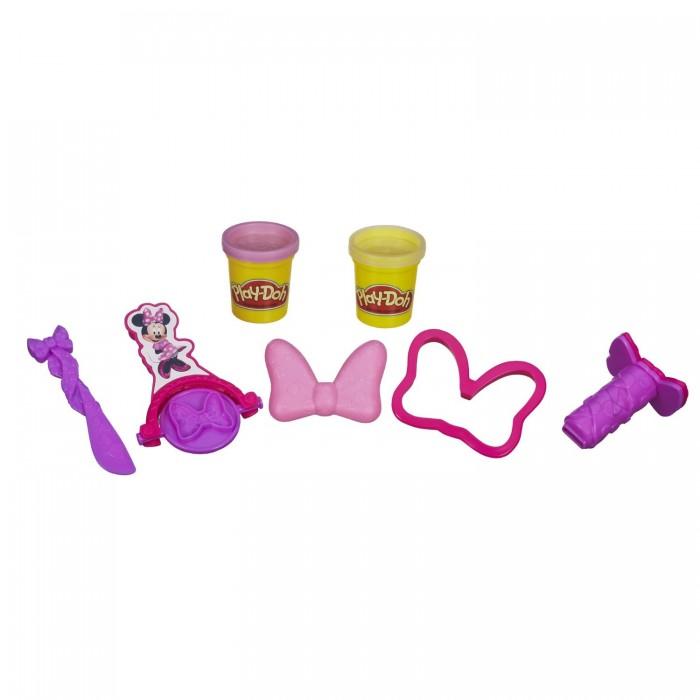 Всё для лепки Play-Doh Набор пластилина Минни Маус набор для лепки play doh сладкий завтрак 6 цветов b9739