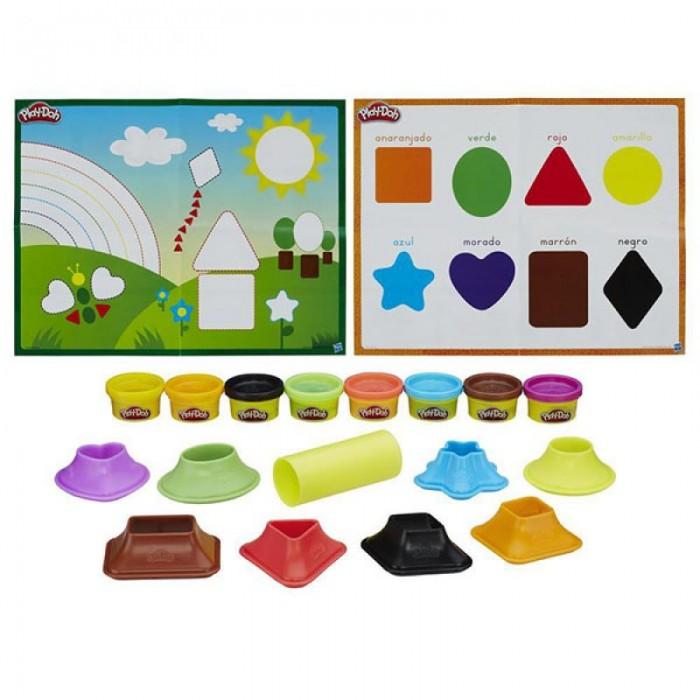 Всё для лепки Play-Doh Игровой набор Цвета и формы всё для лепки play doh игровой набор город магазинчик домашних питомцев