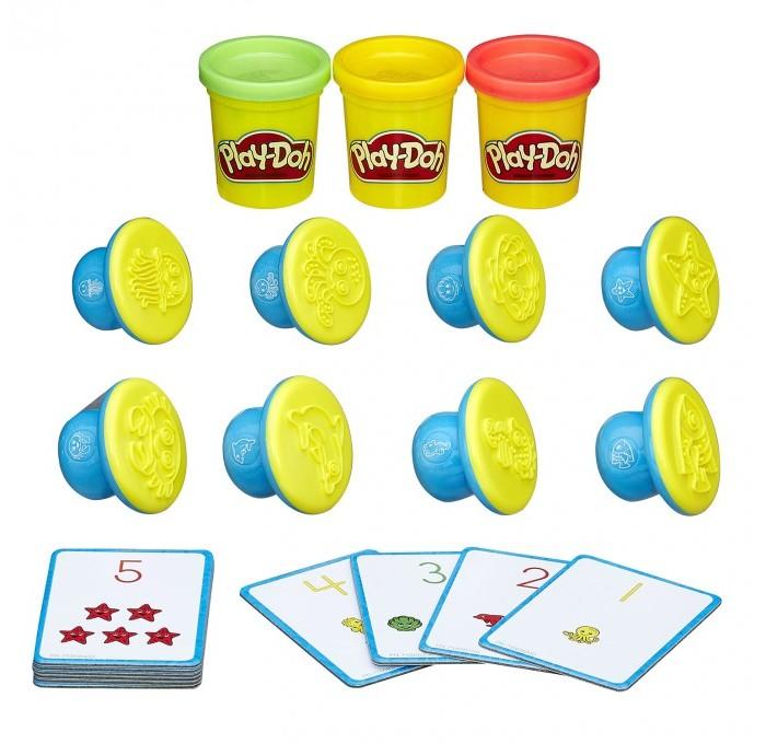 Всё для лепки Play-Doh Игровой набор Цифры и числа наборы для лепки play doh игровой набор сумасшедшие прически