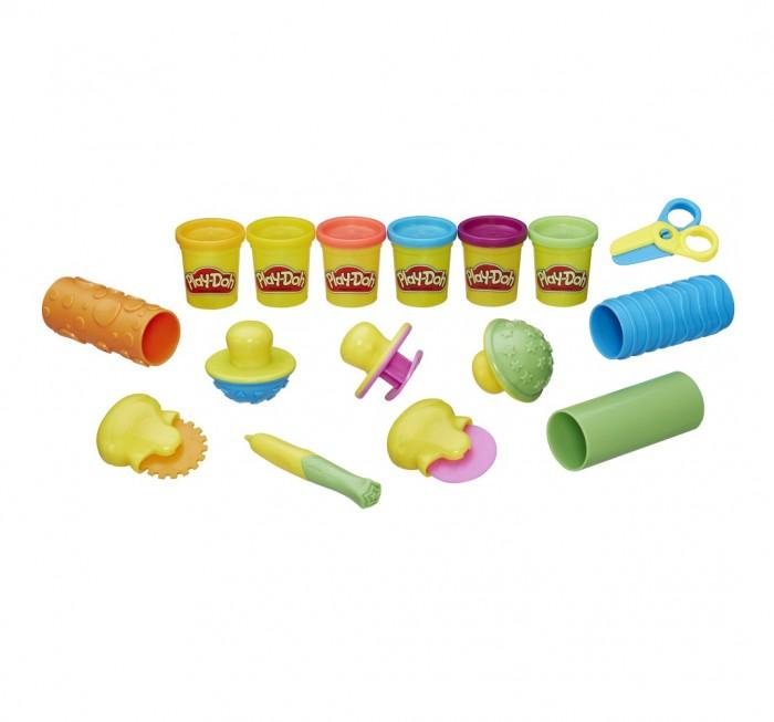 Всё для лепки Play-Doh Игровой набор Текстуры и инструменты hasbro play doh игровой набор из 3 цветов цвета в ассортименте с 2 лет
