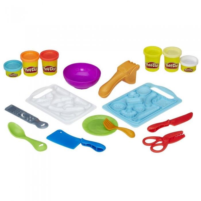 Всё для лепки Play-Doh Игровой набор Приготовь и нарежь на дольки всё для лепки play doh игровой набор город магазинчик домашних питомцев