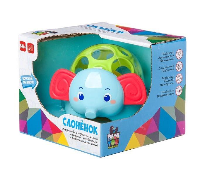 Погремушки Bondibon Игрушка развивающая Слонёнок игрушка