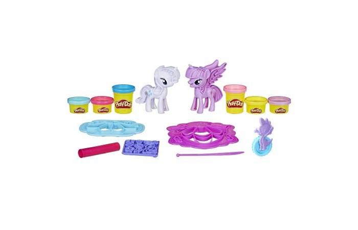Всё для лепки Play-Doh Игровой набор Твайлайт и Рарити наборы для лепки play doh игровой набор сумасшедшие прически